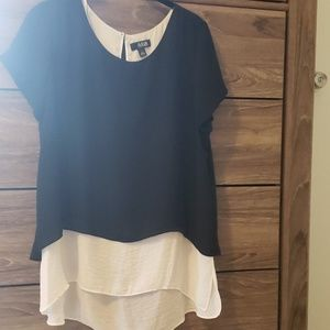 Womens layered top